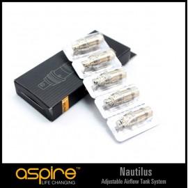 Résistances et Mèches Aspire Nautilus