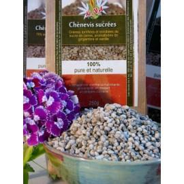 Graines de chanvre sucrées bio - Nature et Progrès