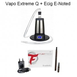 Pack Vaporisateur Arizer Extreme Q + Cigarette Electronique E-Noted
