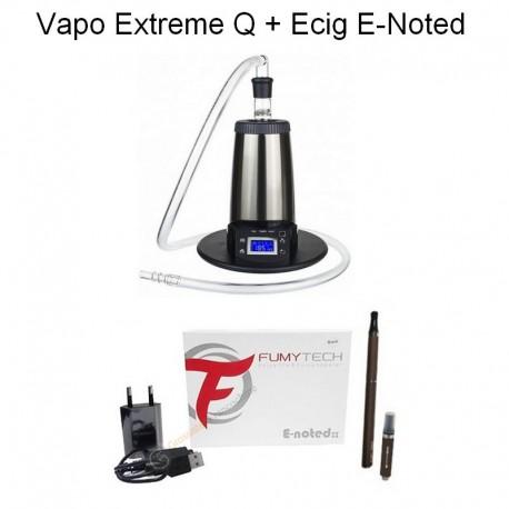 Pack Vaporisateur Arizer Extreme Q + Cigarette Electronique E-Noted