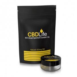 CBD Wax/Crumble Broad Spectrum 85% CBDLife