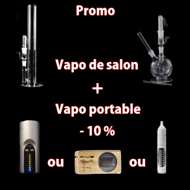 Promo herborizer + vapo portable