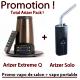 Promo Arizer Extreme Q + Arizer Solo (Vapo de salon + vapo portable)