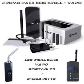 Promo E-Cig eRoll + vaporisateur