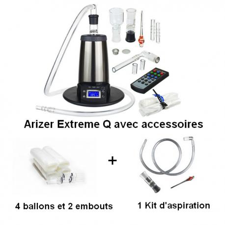 Arizer Extreme Q + Whip Kit + Ballon Kit Extreme Q