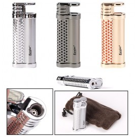 Briquet chalumeau Eurojet hot chrome rechargeable