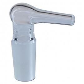 Adaptateur en verre pour tuyau flexible 7mm