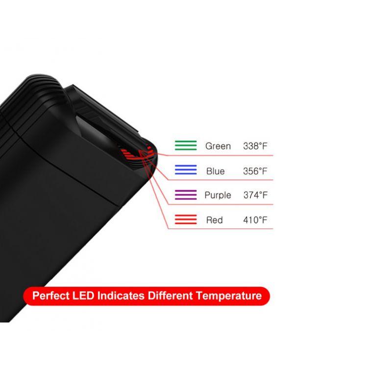 vaporisateur fenix temperature