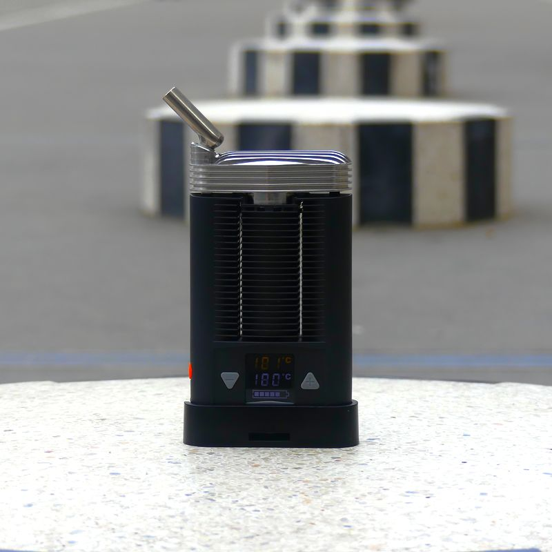 ftv mighty stainless steel cooling unit french touch vaporizer