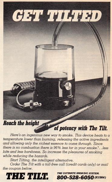 vaporisateur tilt vaporizer